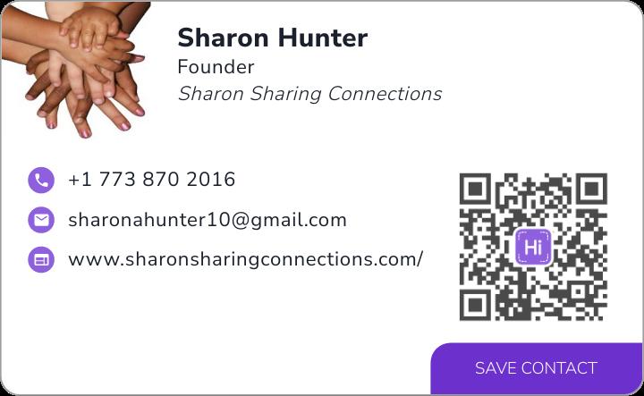 View Sharon Hunter's digital business card.