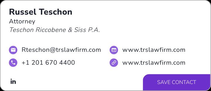View Russel Teschon's digital business card.